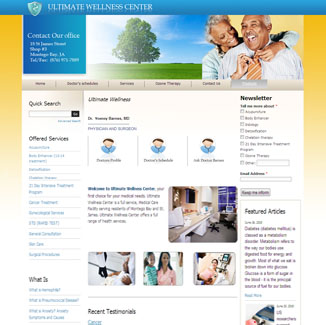 Medical Website Design CMS|website design