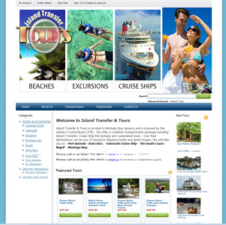 Tourism, Tour and Travel Design CMS|website design